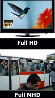 HD vs. MHD | Mimibazar.cz Jokes Quotes, Funny Quotes, Funny Images, Funny Pictures, Funny Pins, Haha, Comedy, Joker, Humor