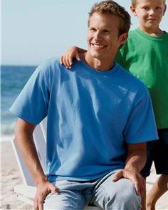 Gildan- TALL- Men's Plain Blank T-Shirt- Super Heavy 100% Cotton -G200T