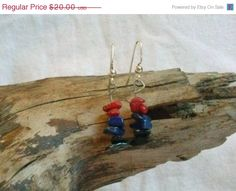 ON SALE Red Coral Lapis and Black Onyx by FaeMoonWolfDesigns, $15.00