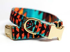 Love the look of this dog collar.   https://www.etsy.com/listing/197374912/aztec-dog-collar-tribal-collar-brass