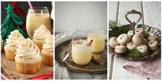 Because the season isn't complete without a taste of eggnog.