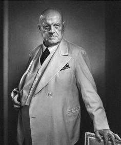 Jean Sibelius, 1949 • Yousuf Karsh Famous Photographers, Portrait Photographers, Yousuf Karsh, Classical Music Composers, B Minor, Romantic Period, People Of Interest, Best Portraits, Ottawa