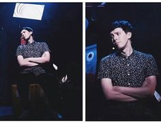 WHY THE FRICK IS HE SO PRETTY PHIL LESTER STOP <<ALSO HIS ARMS HOLY SHIT