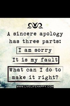 One way to weed out the passive aggressive people in your life... They always say the first part but somehow turn the second part into your fault... And you'll never ever hear the third part... Beware!