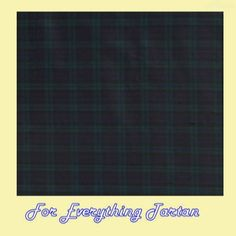 Blackwatch Extra Small Modern Tartan Polyviscose Plaid Fabric Swatch  by JMB7339 - $20.00