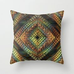 D-Zine Throw Pillow by Lyle Hatch - $20.00