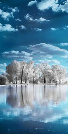 Nature - Landscape - title Across the Lake - by Andrew Hefter All Nature, Amazing Nature, Nature View, Beautiful World, Beautiful Images, Beautiful Beautiful, Pretty Pictures, Cool Photos, Inspiring Pictures