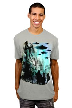 Martians Return T-shirt by Moncheng from Design By Humans. Martians Return T-shirt by Moncheng from Design By Humans.  for