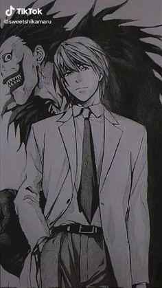 Anime Devil, Sad Anime, Otaku Anime, Kawaii Anime, Aesthetic Movies, Aesthetic Videos, Aesthetic Anime, Death Note Light, L Death Note