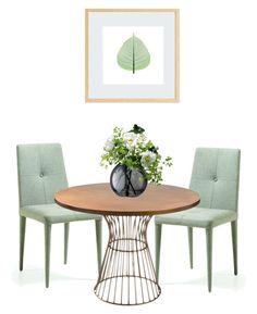 Always spring by ivanadigitalwallart on Polyvore featuring interior, interiors, interior design, home, home decor, interior decorating, Ink & Ivy and LSA International