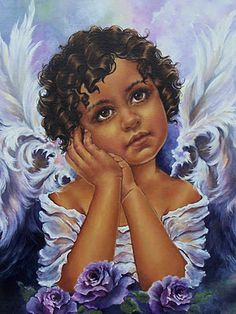 Black art - angel