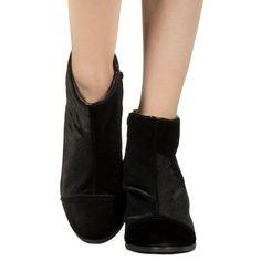 Bota de veludo preta Taquilla - Taquilla - Loja online de sapatos femininos