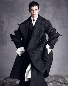 Saskia de Brauw wearing Chanel #VogueNippon #SeptemberIssue
