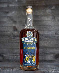 Nashville Barrel Company Small Batch Rye Whiskey Batch 1 Review Helping An Alcoholic, Malted Barley, My Bar, Bourbon Whiskey, Sweet Notes, Distillery, Whiskey Bottle, Nashville, Barrel
