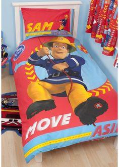 Fireman Sam, Single Bedding - http://www.childrens-rooms.co.uk/fireman-sam-single-bedding.html #firemansam #heronextdoor #boysbedding