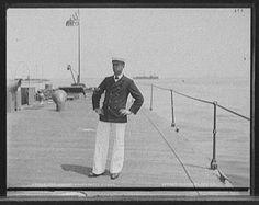 U.S.S. Nahant, a chief petty officer, Hart, Edward H., photographer