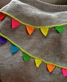 Ravelry: Bunting Baby Blanket (BBB) pattern by Casapinka