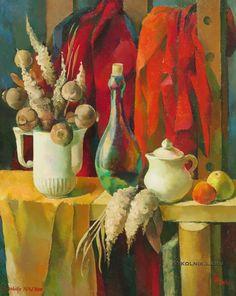 Добрайс (Добрая) Инта Арнольдовна  (Латвия, 1940) «Натюрморт» 1970-е