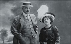 Catherine and Milton S. Hershey...Milton Hershey...he made it happen after several failed businesses...chocolate made him rich...sweet....