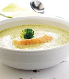 Crema ligera de brócoli