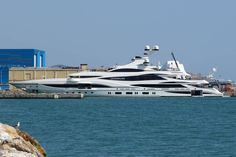 Benetti has delivered its largest superyacht to date. Lionheart was spotted earlier today at Grand Harbour Marina in Valetta, Malta.
