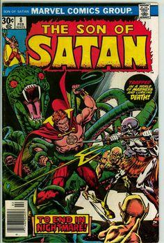 Son of Satan 8 (VG/FN 5.0)