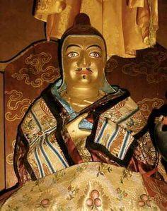Liberation upon sight statue of Padmasambhava, terma of Terton Sogyal