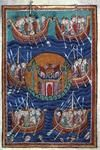Miscellany on the life of St. - Images from Medieval and Renaissance Manuscripts Medieval Life, Medieval Art, Medieval Books, Medieval Manuscript, Illuminated Manuscript, Sun Tzu, Viking People, Germanic Tribes, Medieval Paintings