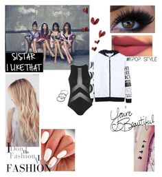 """""""Senza titolo #1198"""" by meddy21 ❤ liked on Polyvore featuring Topshop, Forever 21 and LIST"""