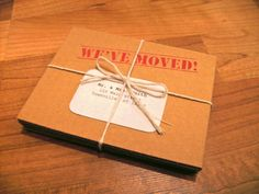 moving box cards
