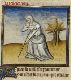 Roman de la Rose @RoseDigLib  ·  28 мая Her spine collapsed, teeth lost, hands weak. She wore Time's withering on her cheek. #RoseRom Image: @J. Paul Getty Museum