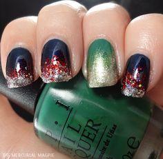 Thor & Loki inspired nails