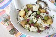 Insalata di baccalà e patate con mistichella mare
