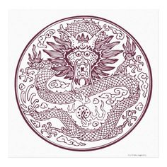 Customizable #Animal#Body #Animal#Head #Animal#Scale #Animal#Themes #Chinese#Culture #Chinese#Dragon #Circle #Close#Up #Color#Image #Digitally#Generated#Image #Dragon #Full#Length #Horizontal #Illustration#And #Mythology #No#People #One#Animal #Pattern #Paw #Photography #Red #Series #Traditional#Culture #White#Background Dragon pattern 20 canvas print available WorldWide on http://bit.ly/2fb3X1r