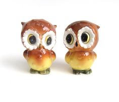 Hey, I found this really awesome Etsy listing at https://www.etsy.com/listing/177948122/owl-salt-and-pepper-shaker-set-vintage