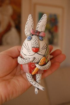 Bunny Bell by natalyasots on Etsy, $38.00