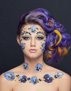 fleur peau