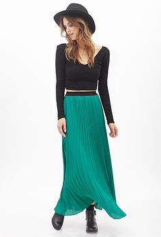 Accordion Pleated Skirt | Forever21 - 2000066967