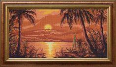 sunset on the Nile - 30 cm Sunset, Painting, Art, Art Background, Painting Art, Kunst, Sunsets, Paintings, Performing Arts
