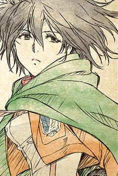 Mikasaa shingeki no kyojin ❤