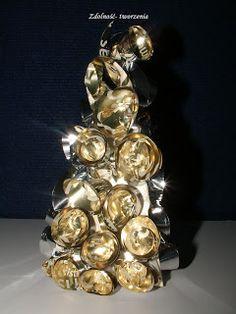 Zdolność - Tworzenia: Złoto- srebrna choinka.