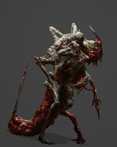 Necromorph 5 by mythrilgolem1 on DeviantArt