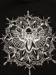 Moth Illustration by ZimmerArt on Etsy, $20.00