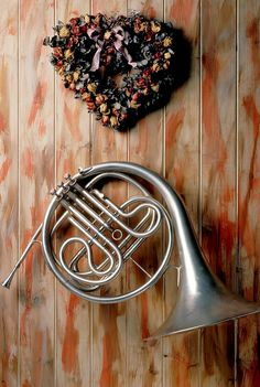 """French horn hanging on wall"" by photogarry, 2012 , Love French, French Horn, Horn Instruments, Billy Joel, Music Wallpaper, Music Humor, Trombone, Classical Music, Music Is Life"