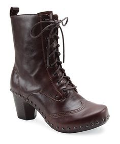 Take a look at this Brown Nat Boot - Women by Dansko on #zulily today!