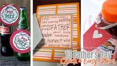 {13 QUICK Fathers Day Ideas} In a rut & need to come up with a Fathers Day gift FAST??  Check out these 13 ideas for those who dont have a lot of time to prepare.  www.thedatingdivas.com #fathersday #giftsforhim