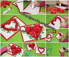 Mothers Day Crafts, Valentines Day, Stampin Up, Playing Cards, Paper, Early Education, Manualidades, Therapy, Cards