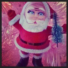 Hou hou hou ja maailman pienin #joulukuusi  #tiniest #yuletree #joulupukki