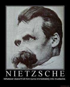 Moustache humor...