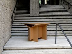 Chairigami - cardboard table
